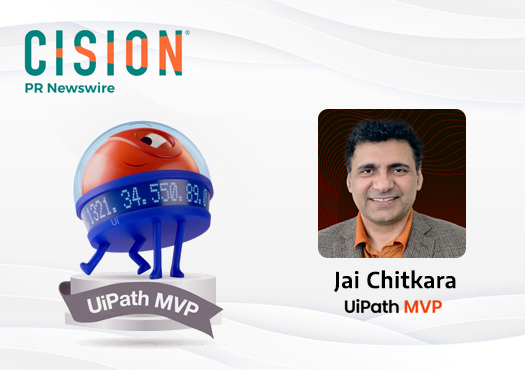 Jai Chitkara, CEO at KTech Products Recognized as a UiPath Most Valuable Professional